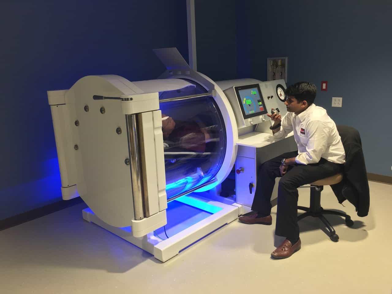 Hybrid 4000 Hyperbaric Chamber by Tekna, MFG