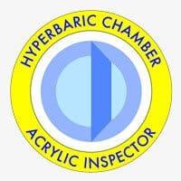 Inspección acrílica hiperbárica