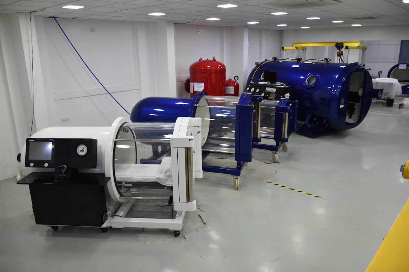 camera iperbarica: 6   Camere di ossigenoterapia ...