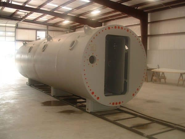 Hyperbaric Chamber Manufacturer Painting