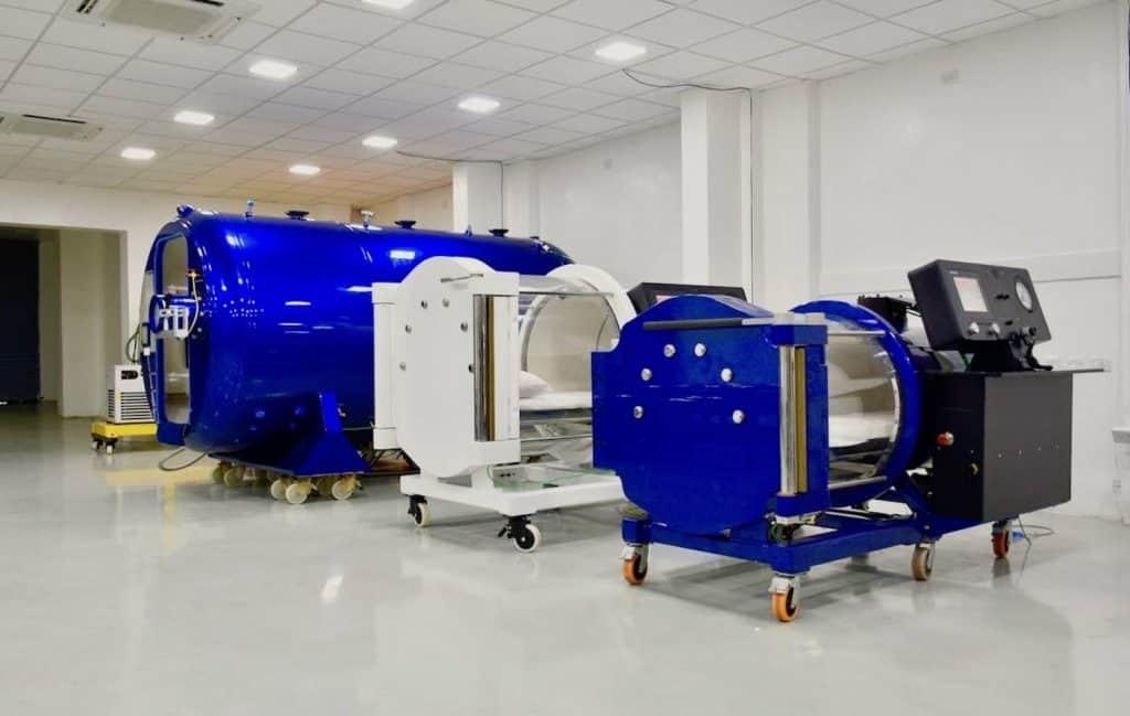 معدات الضغط العالي معدات العلاج بالأكسجين الضغط العالي