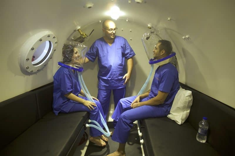 Hyperbaric Scrubs for HBOT