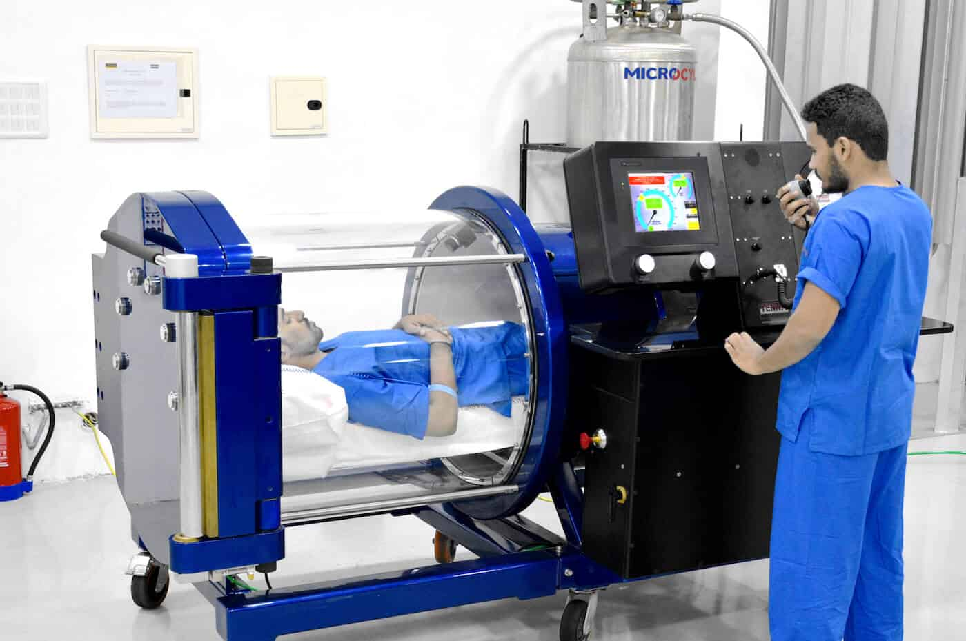 Monoplace Hyperbaric Chamber Model 3200