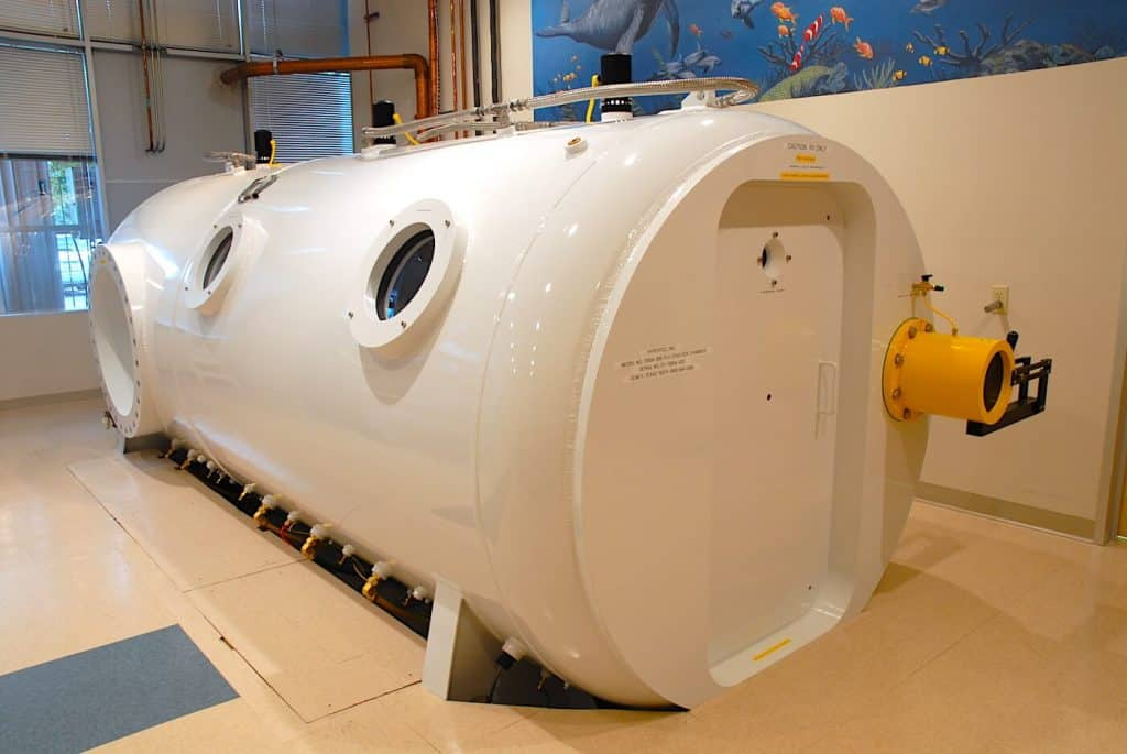 Multiplace Hyperbaric camera Model 7200 DL HBOT