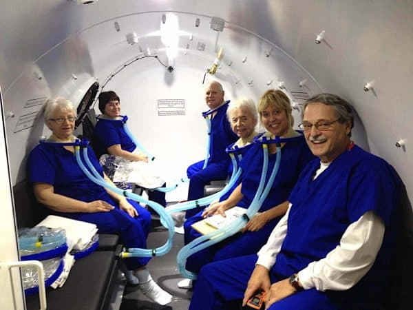 Multiplace Hyperbaric Model 7200 S interius cubiculum