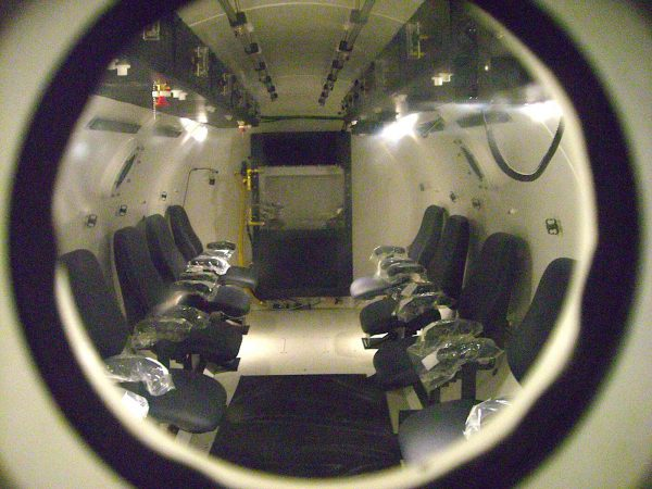 Multiplace Hyperbaric Chamber Model 8400 DL Tlas'a Khatello