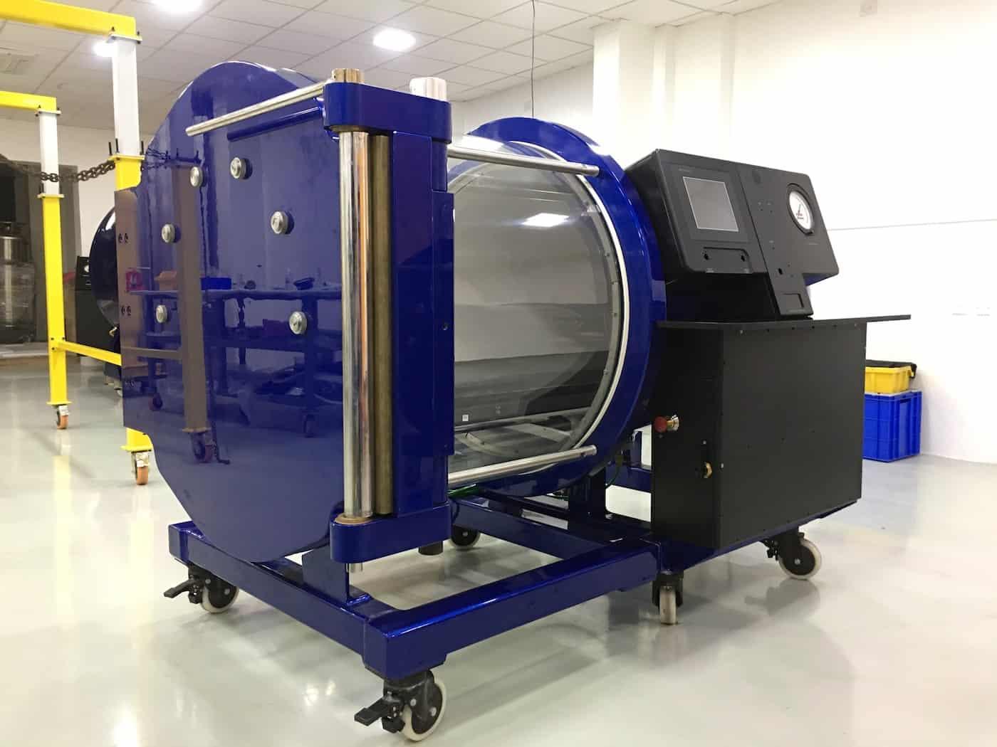 Wa walwar ajiya hyperbaric chamber 295 tekna hyperbaric for Table 6 hyperbaric treatment