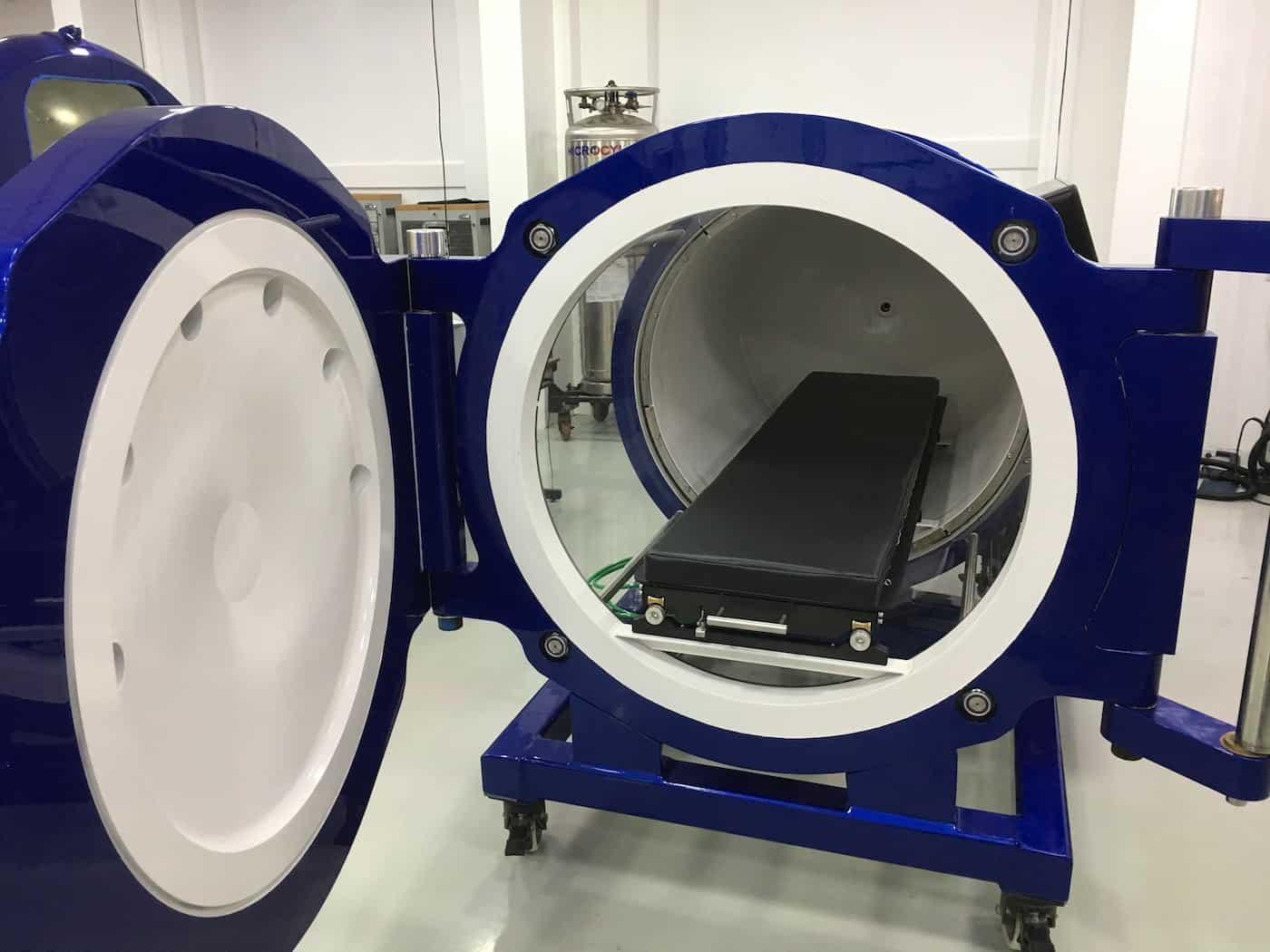 Camera iperbarica portatile - Ossigenoterapia iperbarica HBOT