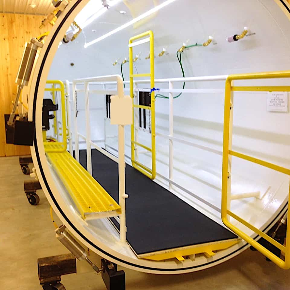 Veterinarii camera Hyperbaric Oxygen Therapy